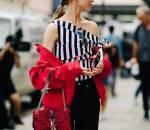 áo lệch vai, hot trends 2018, cua so tinh yeu