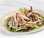salad, mực, salad mực phổ tai, cua so tinh yeu