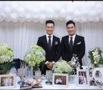 đám cưới cặp đôi đồng tính, đồng tính, gia đình ủng hộ, cua so tinh yeu