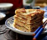 cách làm bánh rán ngàn lớp, cua so tinh yeu
