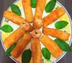 Món ngon mỗi ngày, Nấu ăn ngon, nem hải sản, giòn tan, cồng thức, cua so tinh yeu