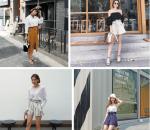 Đẹp, Thời trang,  Xu hướng 2018, Quần vải, Quần thắt nơ, Quần dáng suông, Cách mặc đồ đẹp, cua so tinh yeu