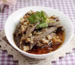 Món ngon từ thịt lợn, món ngon mỗi ngày, gan lợn, gan lợn sốt tỏi cay, cua so tinh yeu