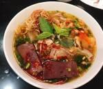 bún bò Huế, món ngon mỗi ngày, bữa tối, cua so tinh yeu