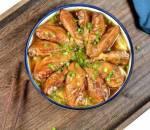 món ngon mỗi ngà,ymón ngon,cánh gà nướng,nấu ăn, cua so tinh yeu
