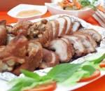 chân giò rút xương, món ngon từ thịt heo, cua so tinh yeu