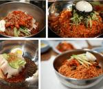 cá loại mì Hàn Quốc, mì lạnh, mì tương đen, miến trộn Hàn Quốc, mì cay hàn quốc, ăn cả thế giới, mì trộn kim chi, cua so tinh yeu