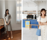 Mặc đồ đẹp, Váy liền, Xu hướng thời trang 2019, Thời trang hè 2019, Váy cổ vuông, cua so tinh yeu