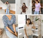 Mặc đồ đẹp, Xu hướng thời trang 2019, Thời trang hè 2019, Thời trang công sở, Áo blouse nhấn eo, Áo blouse cổ chữ V, Áo blouse, cua so tinh yeu