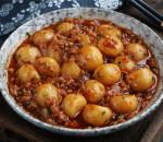 món khoai tây xốt thịt bằm, cách làm, khoai tây, món ăn, món ăn ngon, cua so tinh yeu