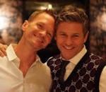 Cặp đồng tính, nổi tiếng nhất, Hollywood, cửa sổ tình yêu.