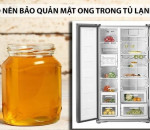 mật ong, bảo quản mật ong, cua so tinh yeu