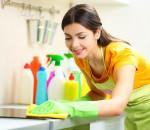 dọn dẹp nhà cửa, lau sàn, phòng khách, phòng bếp, cua so tinh yeu