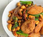 gà xào hạt điều, ngon xuất sắc, bữa cơm chiều, cua so tinh yeu