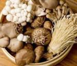 nấm, các món kị với nấm, vitamin