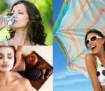 làn da, bảo vệ da, chăm sóc da mùa hè, cách chăm sóc da trong mùa hè