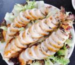 mực nhồi thịt, nấm hương, món ngon từ mực, mực ống, nấm hương
