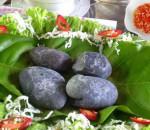 Sỏi mầm, cơm âm phủ, khâu nhục,đặc sản, món ăn lạ