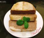 pate gan gà, món ngon, thịt ba chỉ, mỡ lợn, bánh mỳ pate
