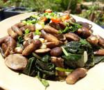 nấm tràm, món ngon, đặc sản, thịt ba rọi