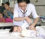 trẻ nhỏ, nhiễm khuẩn hô hấp, viêm đường hô hấp trên, sốt, ho, sổ mũi, nguy hiểm, biến chứng, tử vong, nhiễm trùng