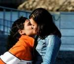 kiểu hôn, nam giới, kích thích,hôn cằm, tình yêu,hôn môi