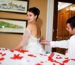 đêm tân hôn, cô dâu, màn dạo đầu,đau đớn khi quan hệ, lãng mạn,bao cao su