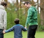 Đồng tính, cặp đôi gia đình, con sinh học
