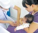Tiêm chủng, bệnh viêm não, chăm sóc trẻ, bệnh dịch mùa nóng, vắc xin viêm não nhật bản