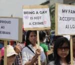 đồng tính, xử tù, facebook,