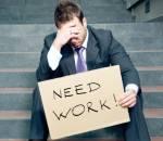 thất nghiệp, cố gắng, tìm việc làm. thành công, nhẫn nại, sai lầm