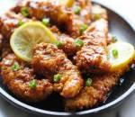 thịt gà, gà sốt chanh, cua so tinh yeu