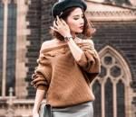 Phong cách sao việt, thời trang sao Việt, thời trang thu đông, thời trang áo len, sao Việt mặc đẹp với áo len, cách kết hợp áo len cổ lọ, xu hướng áo len trong mùa đông, sao Việt diện áo len, cua so tinh yeu
