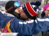 nụ hôn, đồng tính, olympic, 2018, cua so tinh yeu