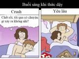 cách để crush chú ý, sự khác biệt giữa crush và người yêu, yêu lâu, dấu hiệu chàng đang crush bạn, cua so tinh yeu