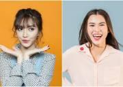 sao Việt, showbiz Việt, cao thiên trang, bích phương, cua so tinh yeu