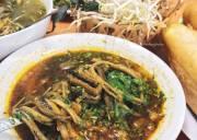 giá trị dinh dưỡng, dinh dưỡng cao, miến lươn trộn, lươn om chuối đậu, bún thang lươn, ăn cả thế giới, các món từ lươn, món ngon phải thử, quán xá hà nội, Hà Nội, cua so tinh yeu
