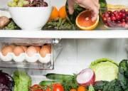 thực phẩm, bảo quản tủ lạnh, dưa hấu, húng quế, khoai tây , cua so tinh yeu