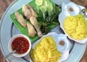 cơm gà phan rang, gà thả vườn, cơm gà, món ngon