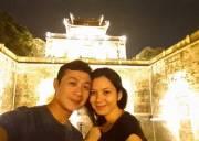 anh tuấn ,    mc   ,  vợ hoa hậu ,Lý Hồng Nhung