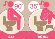 đi vệ sinh, vệ sinh sai lầm, tác hại , bí quyết sống khỏe, csty, cuasotinhyeu