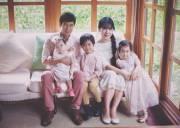 Gia đình Lý Hải Minh Hà, nuoi day con