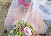 đám cưới, cô dâu chú rể, khỏa thân, lễ phục, hôn mê sâu