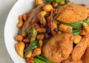 công thức, món ngon, gà xào hạt điều, thơm ngon