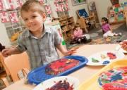 giáo dục con cái, nuôi dạy con, tự lập, học mẫu giáo