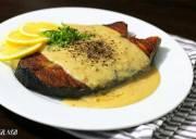 cá thu sốt chanh bơ, món ngon, công thức, khéo tay