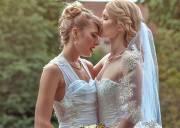 đồng tính, đám cưới, đồng tính nữ, đan mạch, cosplay