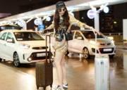 Hoa hậu Kỳ Duyên, thời trang sân bay, hàng hiệu, tuần lễ thời trang milan, thời trang, Hoa hậu, sao Việt, showbiz Việt, cua so tinh yeu