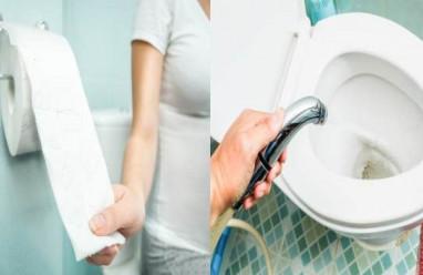thói quen trong nhà vệ sinh, thói quen, nhà vệ sinh ,thụt rửa âm đạo, dùng chung khăn, viêm âm đạo, cua so tinh yeu