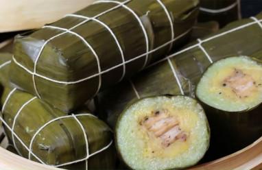 Cách làm bánh tét lá dứa truyền thống thơm ngon, đơn giản đón Tết